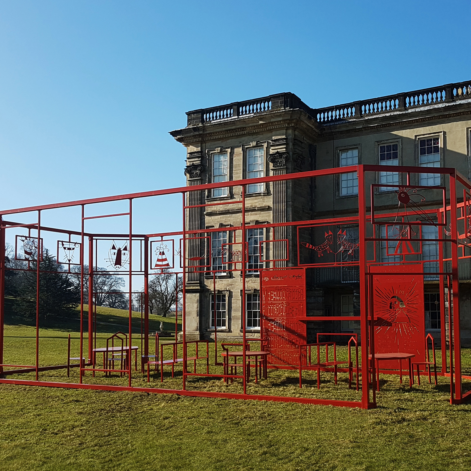 Calke Abbey - Humankind Art installation
