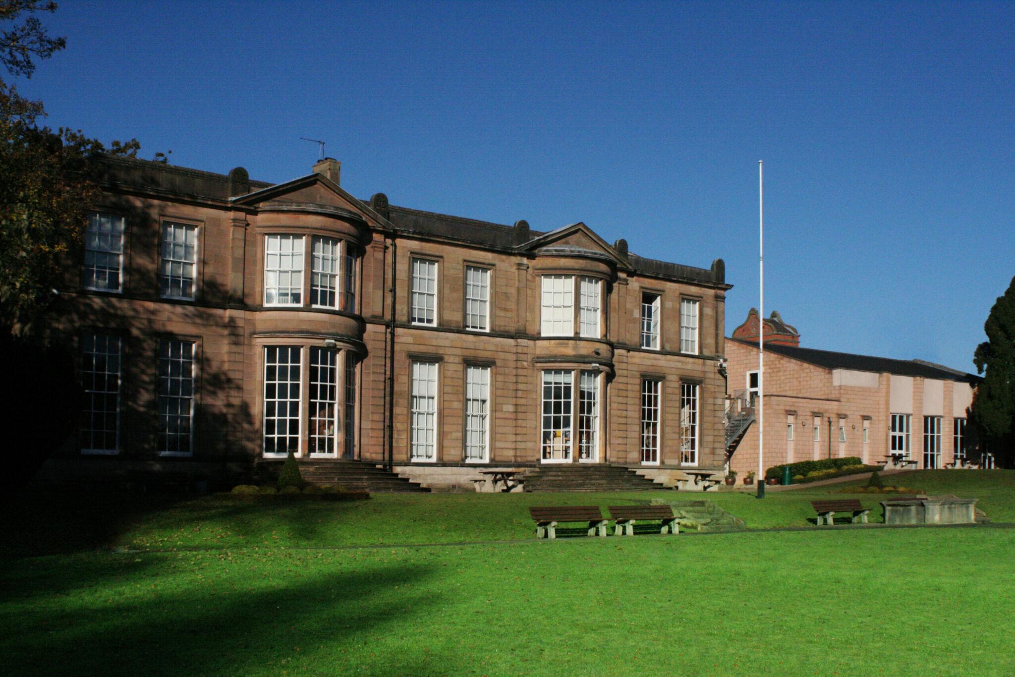 Derby Grammar School Exterior