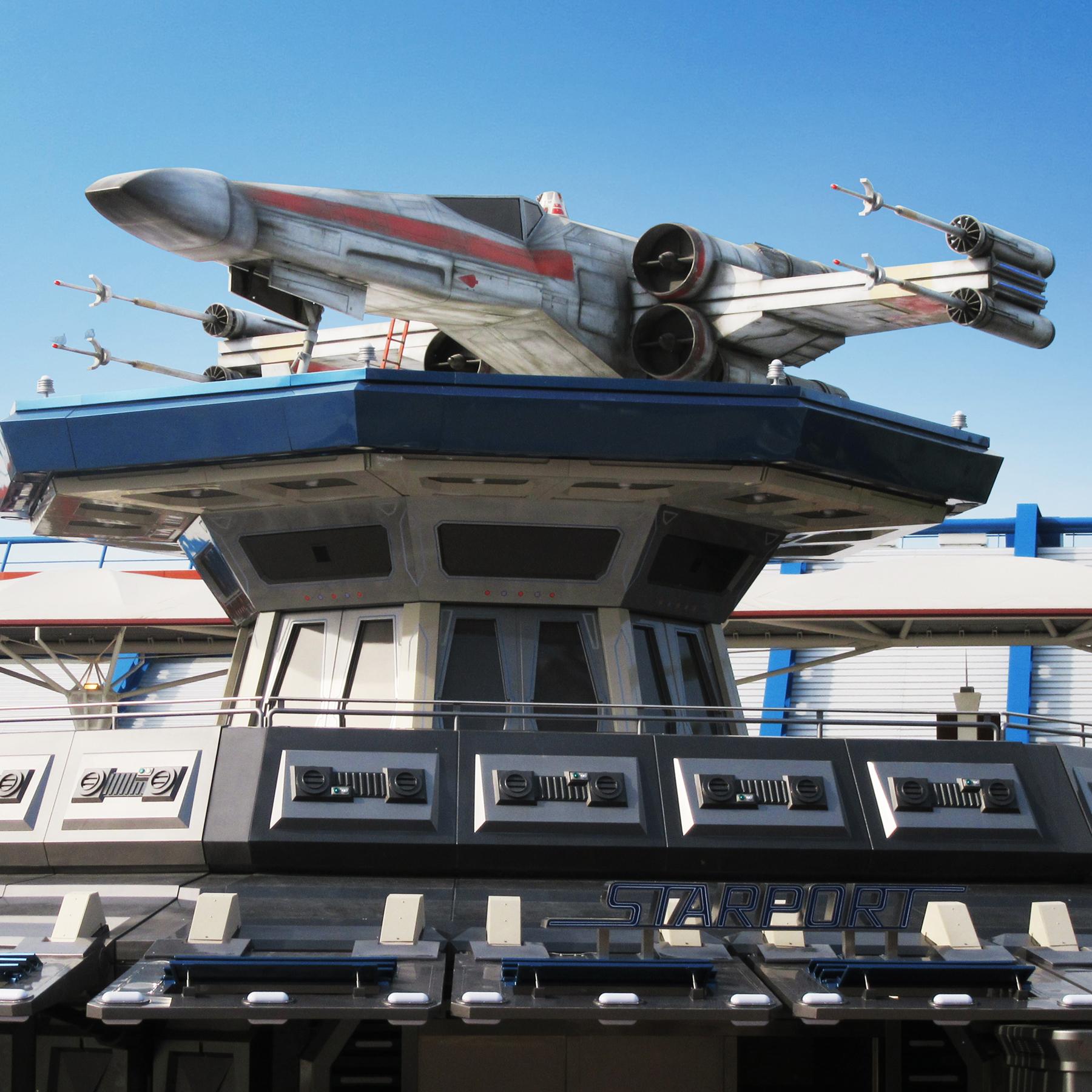 X-wing - Eurodisney